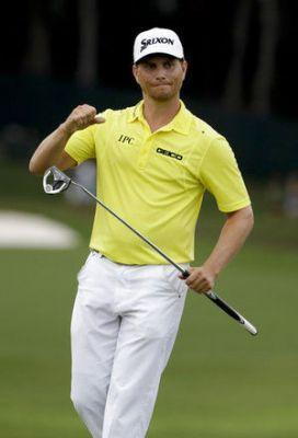 The Latest: Thomas closing in on first major championship