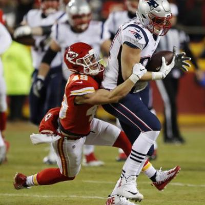 Hurdles cleared, Patriots head to 3rd straight Super Bowl