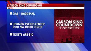 Viral Fundraiser to Wind Down with 'Carson King Countdown' Concert to Benefit Children's Hospital