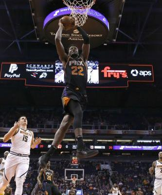 Oubre, Ayton lead Suns past West-leading Nuggets 102-93