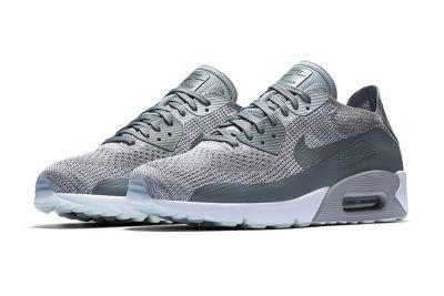 """The Nike Air Max 90 Ultra 2.0 Flyknit Gets The """"Cool Grey"""" Treatment"""