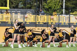 'Purposely hidden': Cheerleaders to protest anthem in tunnel