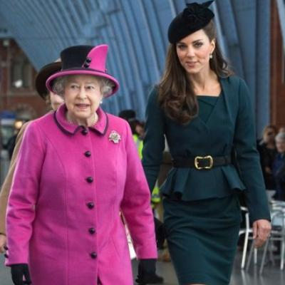 Meghan Markle's First Appearance With The Queen Vs. Kate Middleton's Was So, So Different
