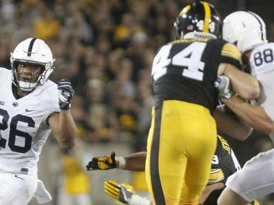 In Iowa win, Penn State's Saquon Barkley proves he's college football's best player