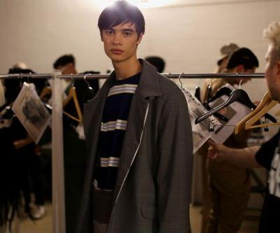 A Backstage Look at Martin Asbjørn's Gangster-Inspired Fall/Winter 2019 Show