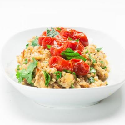 Couscous Salad With Cherry Tomatoes