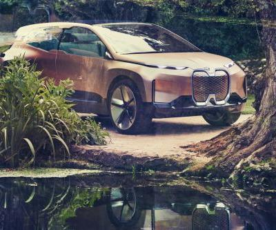 BMW's new electric SUV concept is loaded with impressive tech - here's a look at its best features