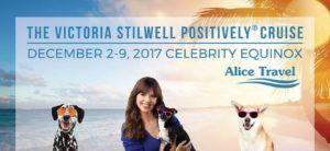 Victoria Stilwell Positively Cruise to Sail the Caribbean