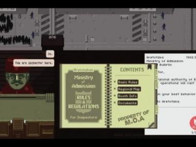 Papers, Please for PS Vita Out Next Week