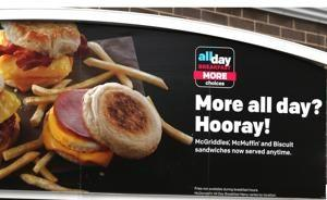 Need for speed: McDonald's trims all-day breakfast menu for faster service