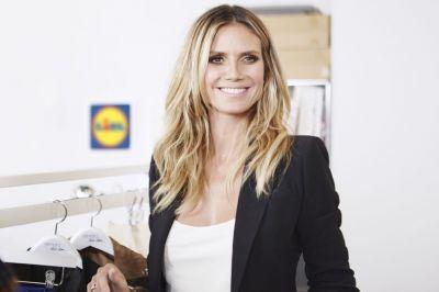 Heidi Klum is launching a fashion collection with Lidl