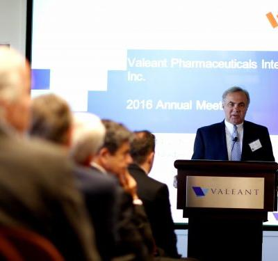 Embattled pharma company Valeant is changing its name as it seeks to revamp image