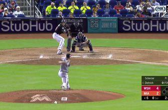 WATCH: Derek Dietrich blast a 2-run homer