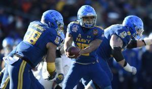 Navy looks to Perry to rack up during team's traveling show