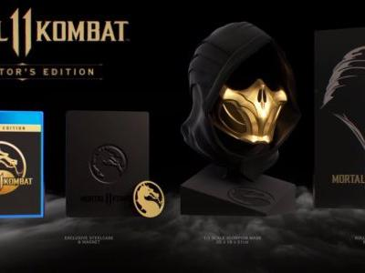 Mortal Kombat 11 Kollector's Edition Costs A Lot But Has A Scorpion Mask
