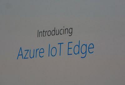 Microsoft's new Azure IoT Edge extends AI and advanced analytics to edge devices