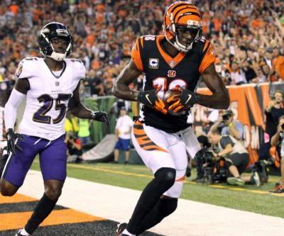 Bengals' A.J. Green expected to miss games with foot injury