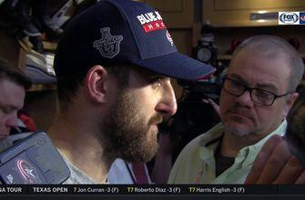 Nick Foligno wants Columbus to dictate the game in D.C