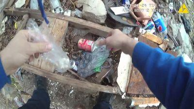 Body camera video allegedly shows Baltimore officer planting drugs