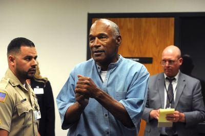 O.J. Simpson granted parole after nearly nine years in prison
