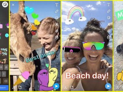 Giphy iOS update integrates TrueDepth camera for personalized stickers, adds universal keyboard
