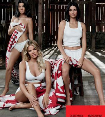 The Kardashians star in Calvin Klein's New MyCalvins Campaign