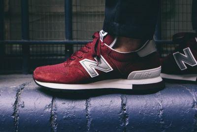 "New Balance Drops a Striking Red ""Made in the USA"" M995"