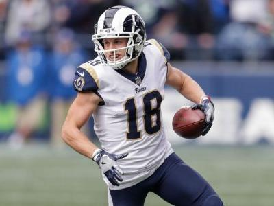 Rams WR Cooper Kupp leaves field on cart after horse-collar tackle