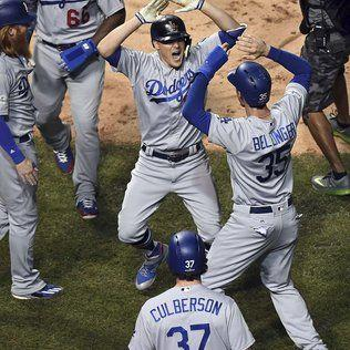 On to World Series as Dodgers close out Cubs