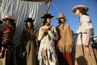 Dior takes inspiration from wild women for Cruise show