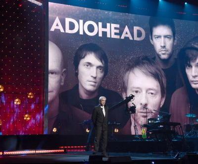 David Byrne Inducts Radiohead Into The Rock & Roll Hall Of Fame
