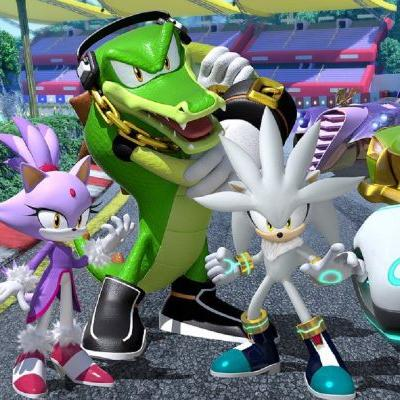 Team Sonic Racing reveals new characters Silver, Blaze and Vector
