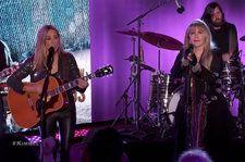 Sheryl Crow & Stevie Nicks Take 'Jimmy Kimmel Live' Stage for Rocking Kiss-Off Anthem 'Prove You Wrong'