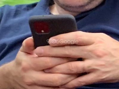 Exclusive: First photos of Google Pixel 4 spotted in the wild