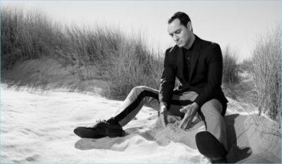 Jude Law Fronts Prada's Gloomy Spring Campaign