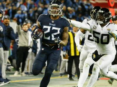 Derrick Henry finally realizing potential for Titans thanks to inexplicable power-speed combo