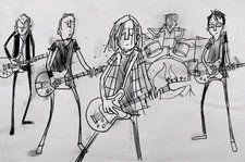 Watch Pearl Jam Host a Tiny Concert on the 'Superblood Wolfmoon' in Animated Music Video