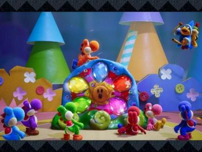 Yoshi's Crafted World Arriving End Of March, Kirby's Epic Yarn Hitting 3DS Early March