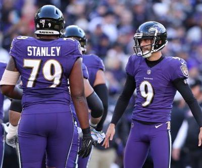 Justin Tucker's first career extra-point miss sinks Ravens in loss to Saints