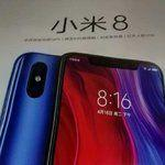 Xiaomi Mi 8 with display notch & dual camera setup appears in retail packaging