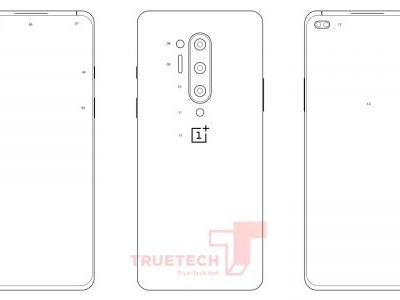Alleged OnePlus 8 Pro design diagrams leak w/ dual punch-hole notch, more