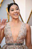 Gina Rodriguez's Red Carpet Hair Looks Basic - Until She Turns Around