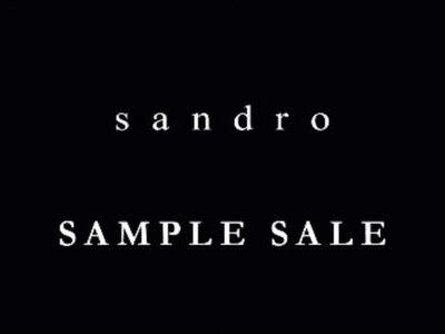 DO NOT MISS LA'S FIRST SANDRO SAMPLE SALE