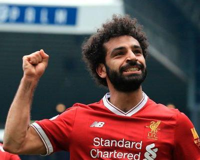 Liverpool's Salah ties Premier League record with 31st goal