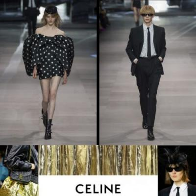 Hedi Slimane's First Celine Collection
