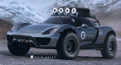 An Off-Road Porsche 918 Spyder Looks Better Than A Cayenne