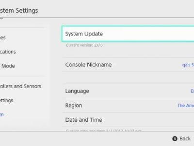Nintendo Switch System Update 5.0.0 Out Now, Read the Patch Notes Here