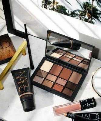 NARS Skin Deep Eye Palette + Super Radiant Booster Review