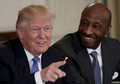 Merck CEO takes a stand and resigns from Trump's Manufacturing Council