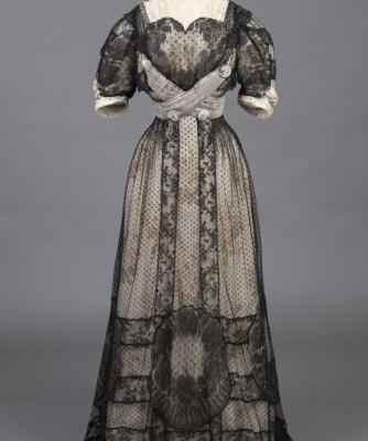 Afternoon Dress1909Goldstein Museum of Design
